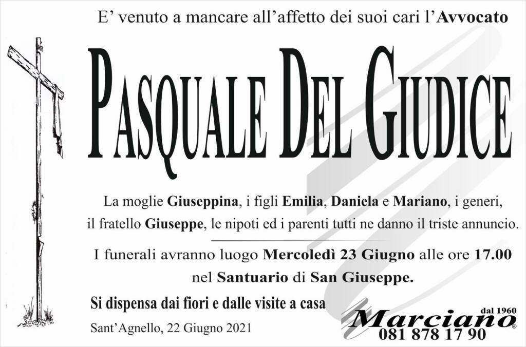 Sant'Agnello, addio all'Avvocato Pasquale Del Giudice