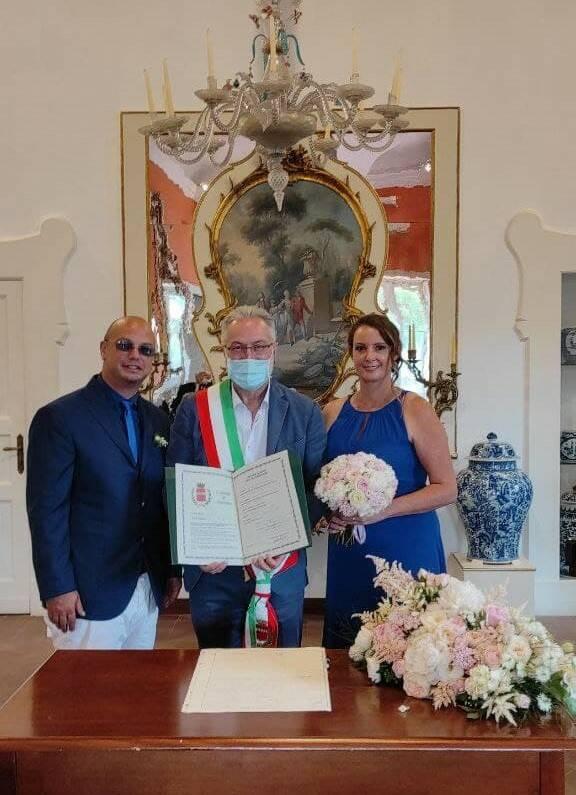 Soorento, officiato il primo matrimonio civile del 2021 al Museo Correale