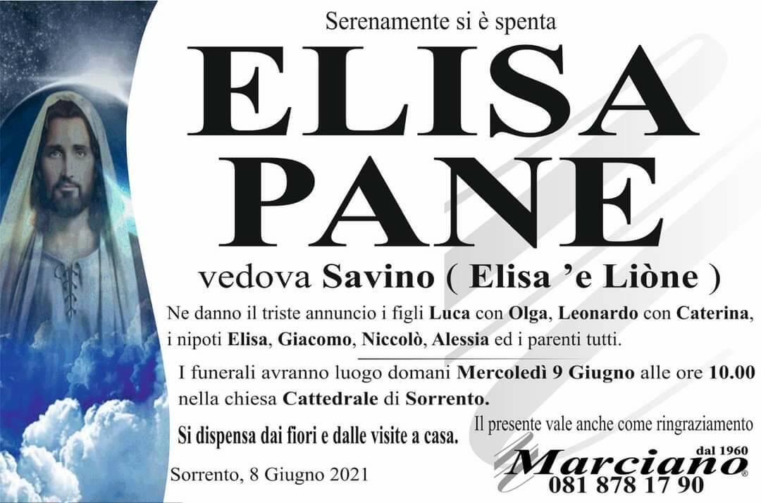 Sorrento in lutto: si è spenta Elisa 'e Liòne Pane, vedova Savino