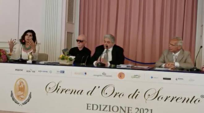 """Sorrento, la senatrice Virginia La Mura al Premio Sirena d'Oro: """"L'olio è l'oro verde d'Italia"""""""