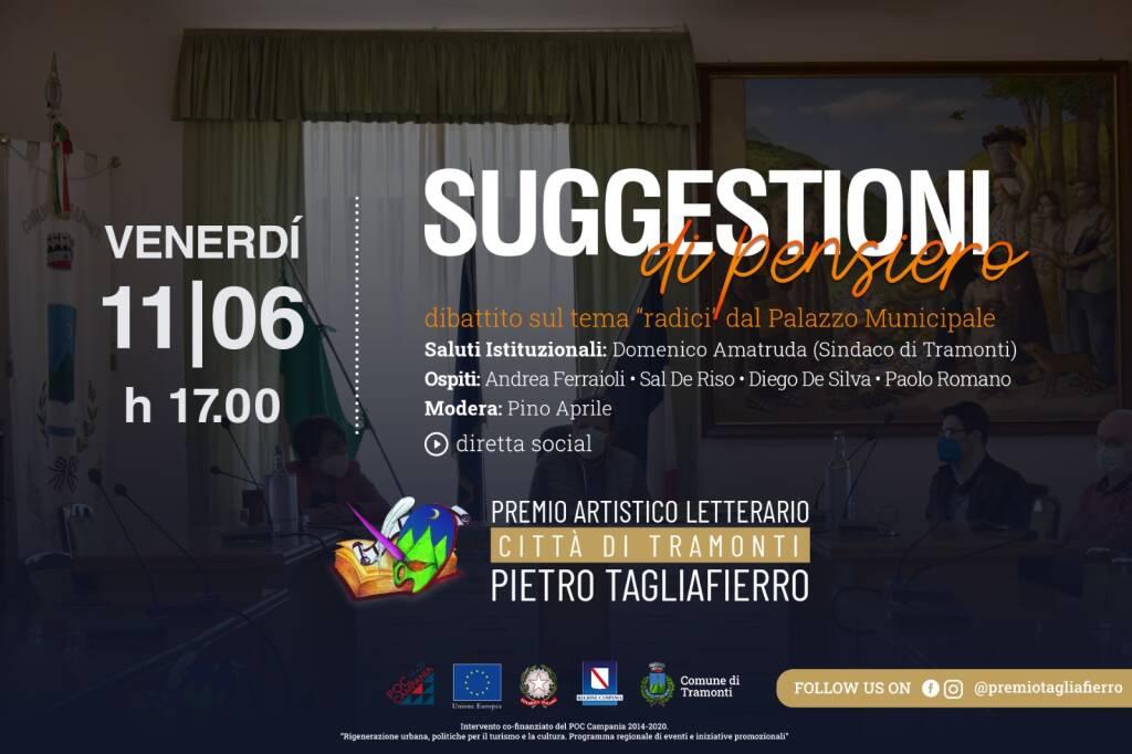 """Tramonti. Focus sul tema """"Radici"""" al Premio Tagliafierro"""