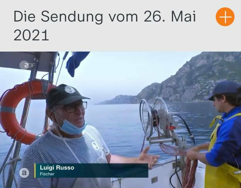 tv tedesca positano fishing tours