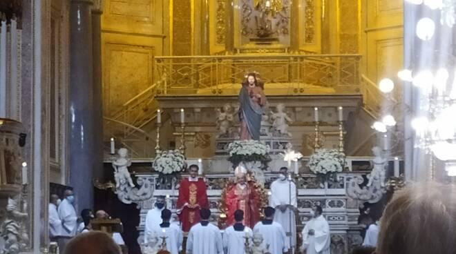 Vescovo Arturo a Piano di Sorrento