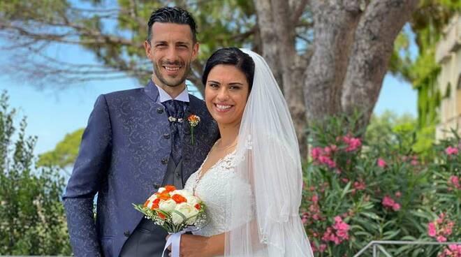 Vico Equense, auguri ad Umberto e Patrizia per il loro matrimonio
