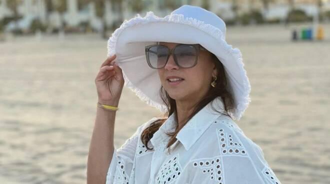 "Adamari López  a Positano ,  famosa conduttrice sudamericana ""Qui ho ricaricato le energie"""