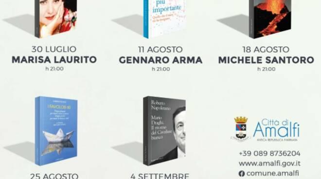 """Al via """"Amalfi d'Autore"""", cinque incontri letterari da non perdere"""