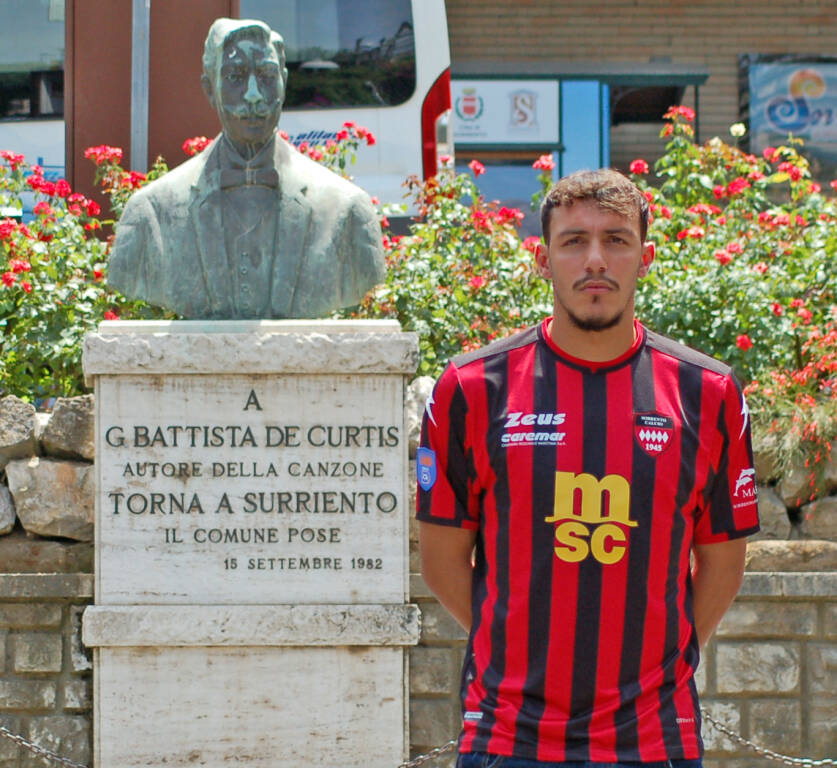 Alberto Cirelli nuovo bomber #madeinsorrento!