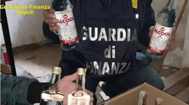 alcol sequestrato gdf