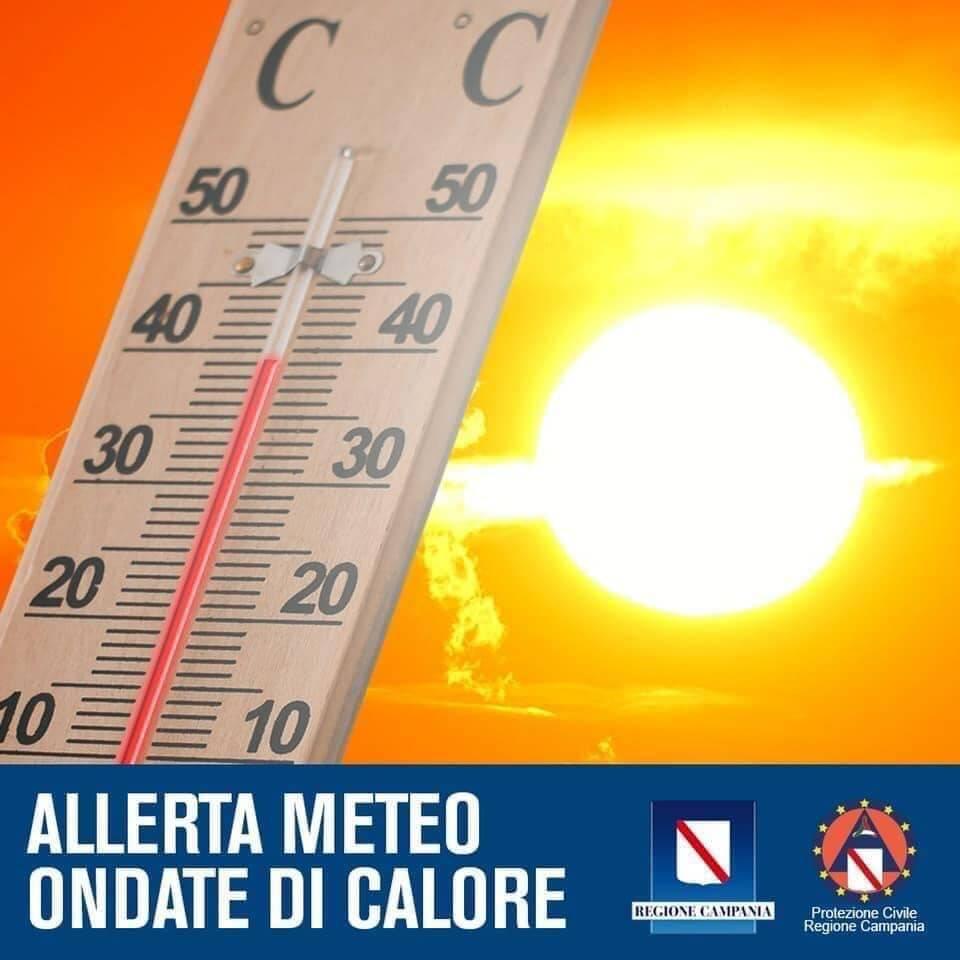 allerta meteo ondate di calore