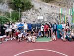 Amalfi, inaugurato il campo di basket nella nuova caserma della Guardia di Finanza