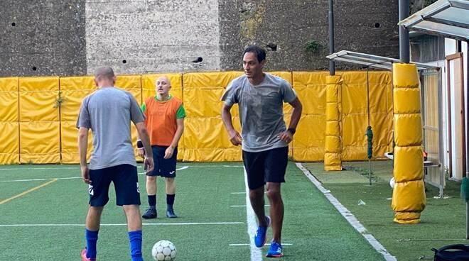 Amalfi: la partita tra amici di Alessandro Nesta al Centro Ercolano Marini