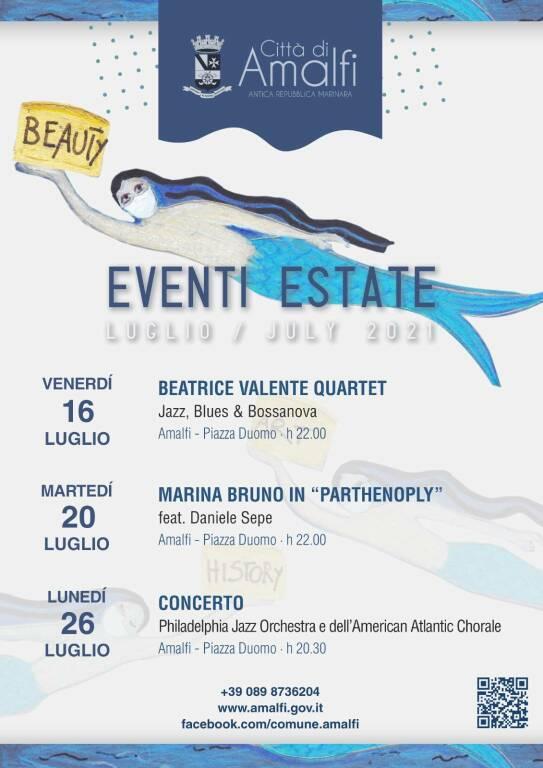 Amalfi, musica d'autore ai piedi della Cattedrale