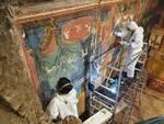 Positano - Villa Romana, restauri e nuovi reperti