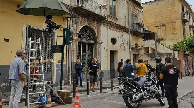 """Castellammare di Stabia si trasforma in un set cinematografico per le riprese del film """"Rosanero"""""""