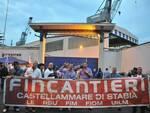 Castellammare di Stabia, venerdì 30 luglio gli operai Fincantieri ritornano in piazza: «La città ci sostenga»