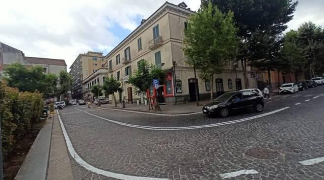 Cava de' Tirreni: cambia la viabilità in alcune zone del centro, su viale Crispi torna il doppio senso