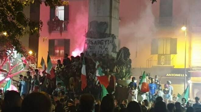 festa in onore degli Azzurri a Castellammare