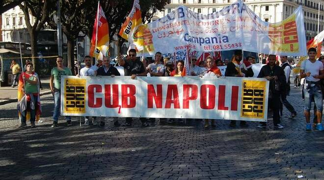 Flaica Club Napoli: dichiarato lo sciopero presso l' indotto pulizie della Questura di Napoli