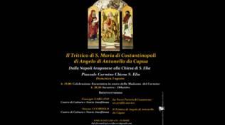 Furore, il convegno sul Trittico di S. Maria di Costantinopoli