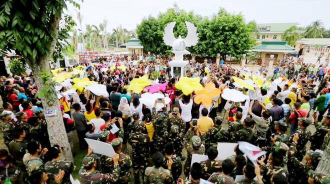 HWPL: Sviluppo della pace a Mindanao, Filippine