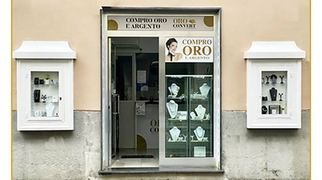 I negozi Oro Convert, per vendere oggetti preziosi in sicurezza