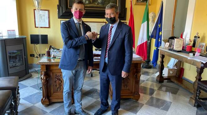 Il console generale del Marocco in visita a Sorrento