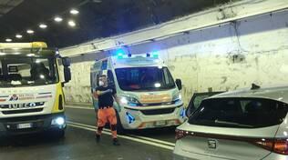 Incidente in galleria a Seiano