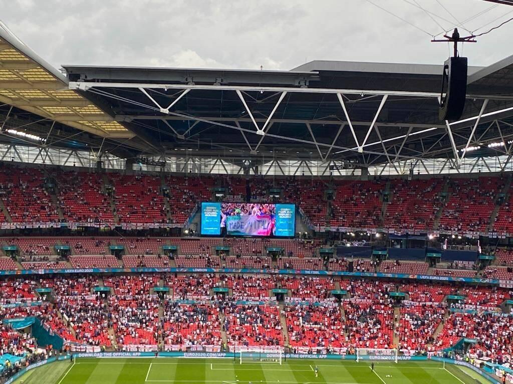La finale degli Europei dal nostro inviato a Wembley