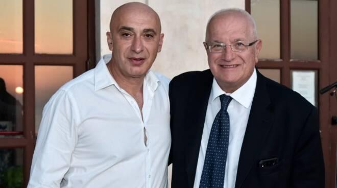 Lauro con Iaccarino