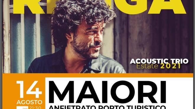 Maiori, sabato 14 agosto 2021 Francesco Renga in concerto al Porto Turistico