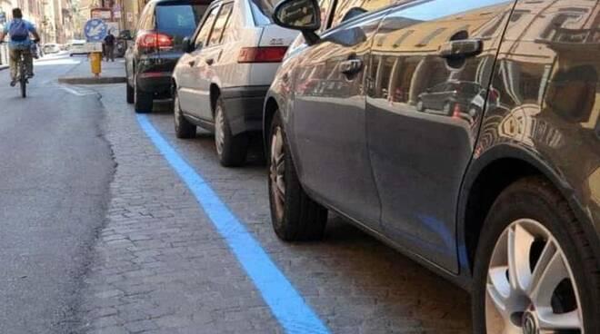 Massa Lubrense: 120 famiglie contro le strisce blu