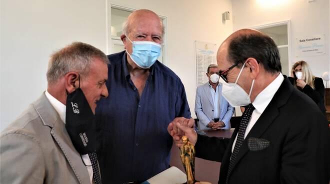 Massa Lubrense, consegnato il Premio Vervece al Procuratore nazionale antimafia Federico Cafiero de Raho