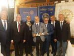 Massa Lubrense, la cerimonia del passaggio del collare del Presidente del Rotary Club Sorrento
