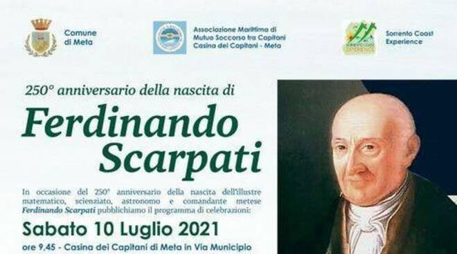 Meta festeggia il 250° Anniversario della nascita di Ferdinando Scarpati