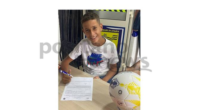 Michele Longobardi firma per la Juve Stabia