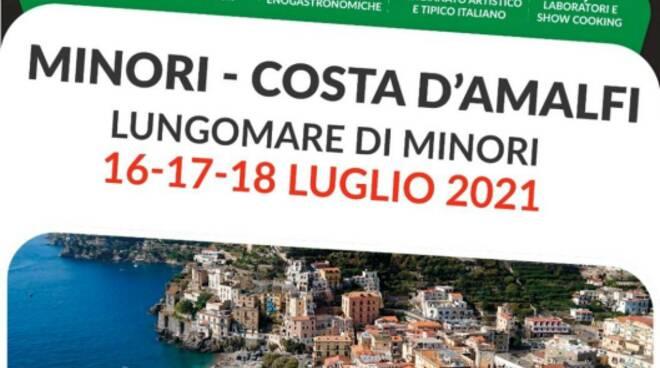 Minori, dal 16 al 18 luglio Gusto Italia in Tour