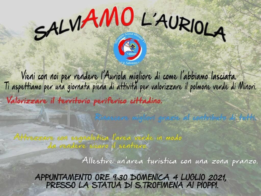 Minori, salviamo l'Auriola: domenica gruppo scout e volontari impegnati nell'allestimento di una zona picnic
