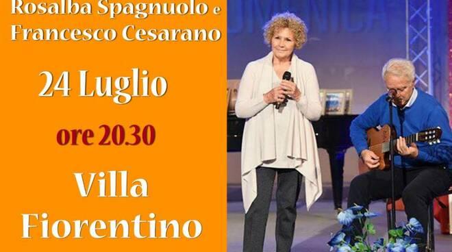 'Na Passiata': la passeggiata del gruppo di Rosalba Spagnuolo tra musica e poesia napoletana a Villa Fiorentino sabato 24 luglio
