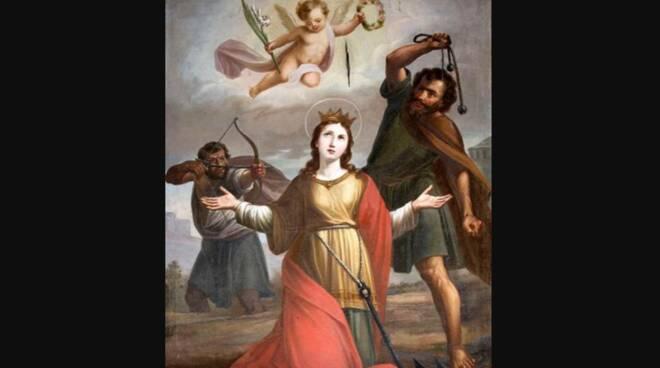 Oggi la Chiesa festeggia Santa Cristina di Bolsena