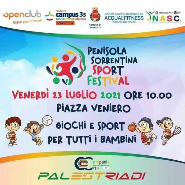 """Penisola Sorrentina Sport Festival, Salvatore Aiello:"""" Il CSAIS è sport"""""""