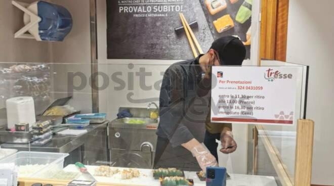 Piano di Sorrento: al supermercato Tre Esse arriva il sushi!