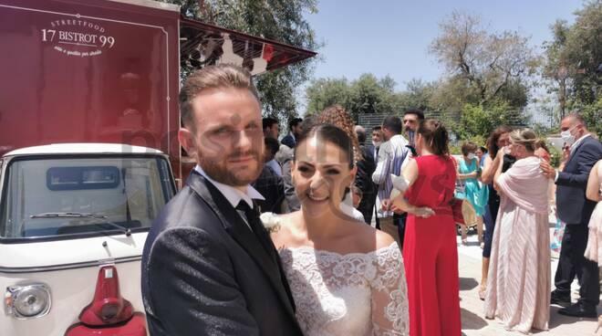 Piano di Sorrento: infiniti auguri ad Antonio e Marina per il loro matrimonio!