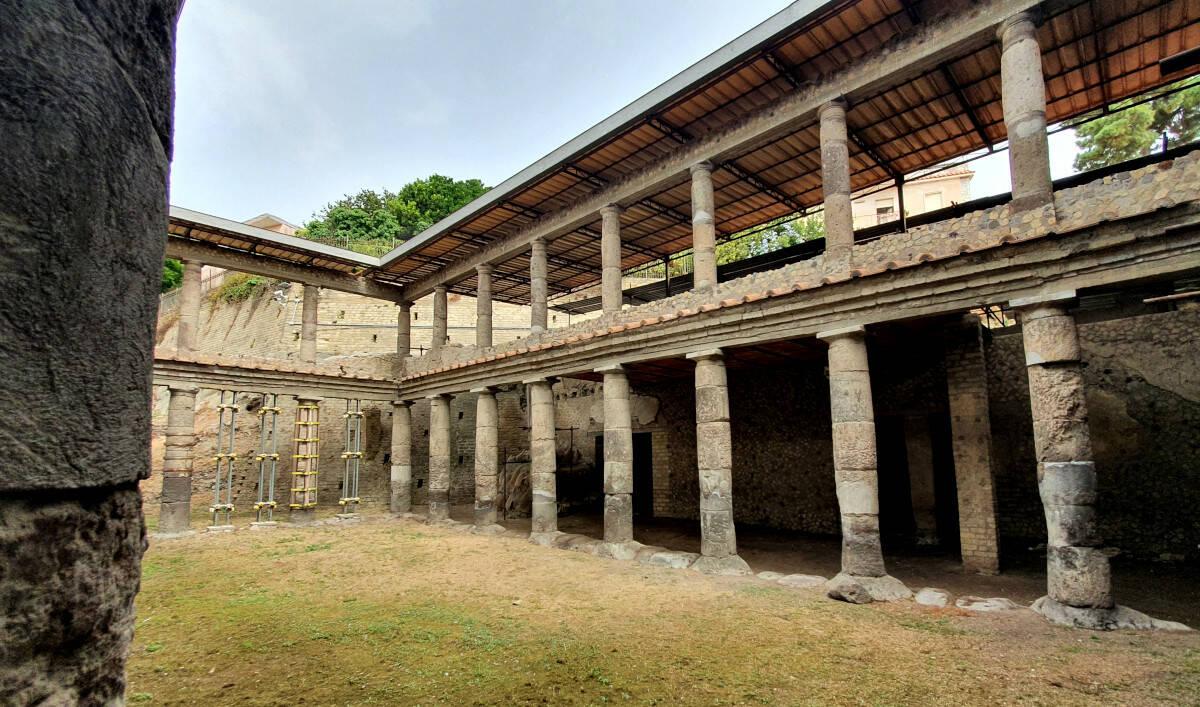 Pompei, apre alle visite la Villa B di Oplontis