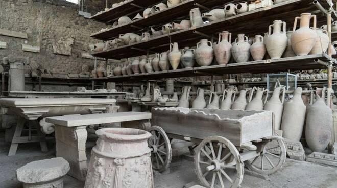 Pompei. Visita straordinaria ai granai del foro: dal 7 luglio e per tutti i mercoledì fino ad agosto