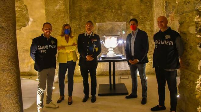 Positano Città Archeologica, l'inizio di un nuovo percorso in sinergia con il Nucleo Carabinieri T.P.C
