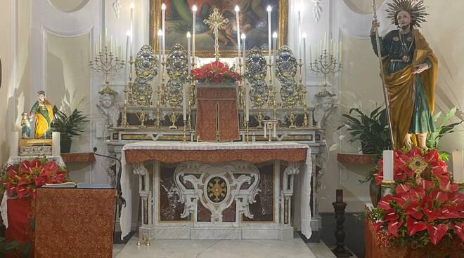 Positano, il quartiere di Liparlati onora San Giacomo. Torna all'antico splendore l'altare della chiesa