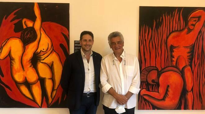 Positano riparte in nome della cultura con la mostra in onore di Dante Alighieri: diretta di Positanonews