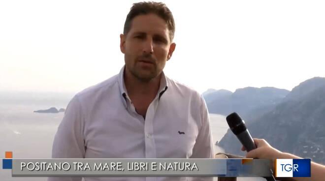 Positano tra mare, libri e natura nel servizio del TGR Campania