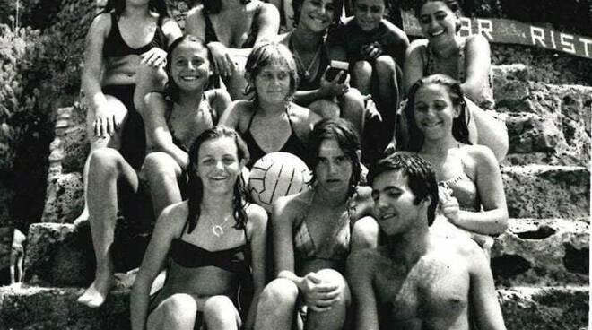 Praiano alla Gavitella anni Ottanta