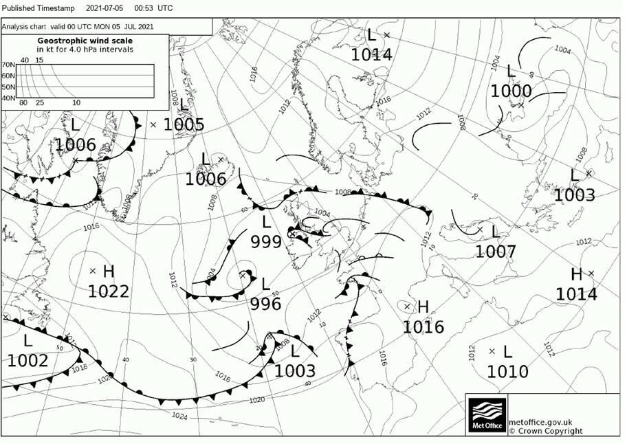 Previsioni Meteo del Nautico di Piano di Sorrento: giornate con sole e qualche nuvola di passaggio